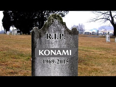Konami will NOT offer DLC for MGS V , No More AAA titles, remebering Konami RIP NGO Podcast