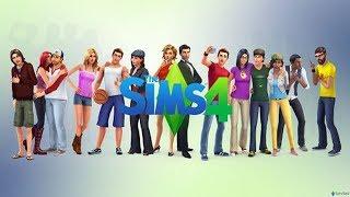 The Sims 4 дапанение кошки и собаки продолжение с хаски и с софи и ее семей.