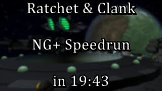 Ratchet & Clank - NG+ Speedrun in 19:43 [WR]