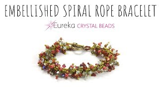 Embellish a Spiral Rope with Leah!