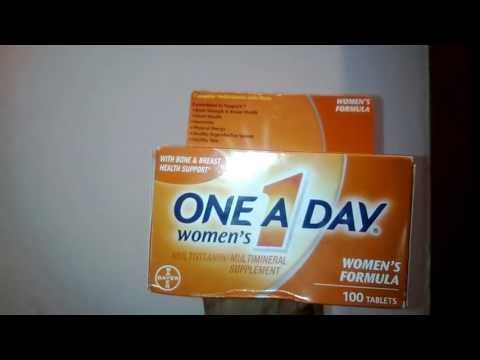 Myotcstore.com Review on One-A-Day Womens Formula Multivitam