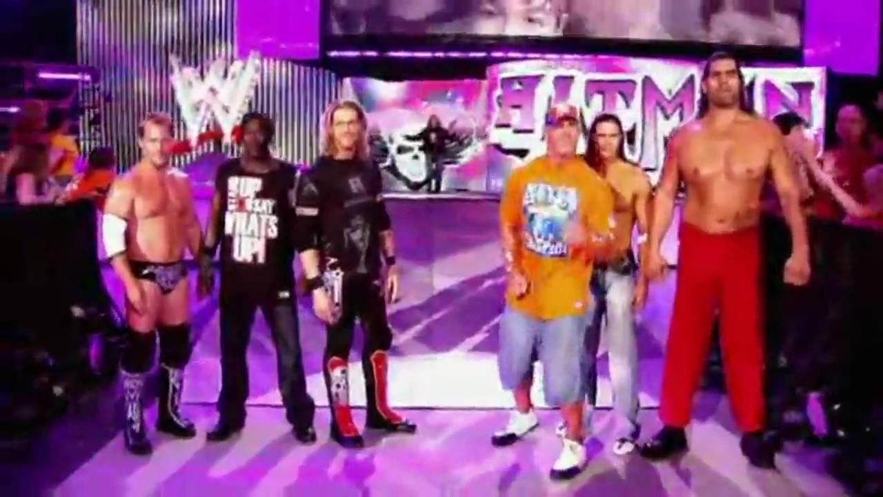 Wwe Nexus Vs John Cena Team WWE SummerSlam ...