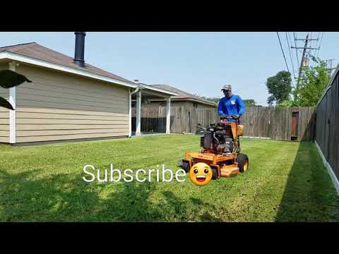 Daily Mowing; Real time mowing at Houston Tx ,Vlog #6