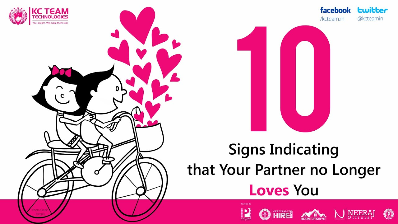 Signs That Your Partner No Longer Loves You