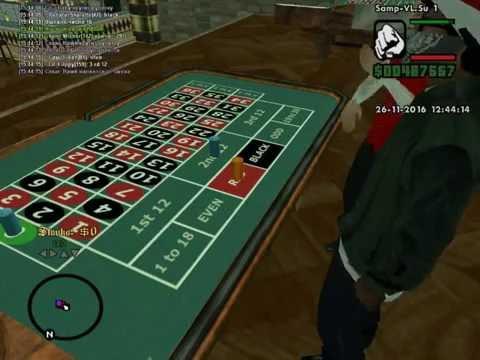 Рулетка для казино в самп казино играть в демо версию