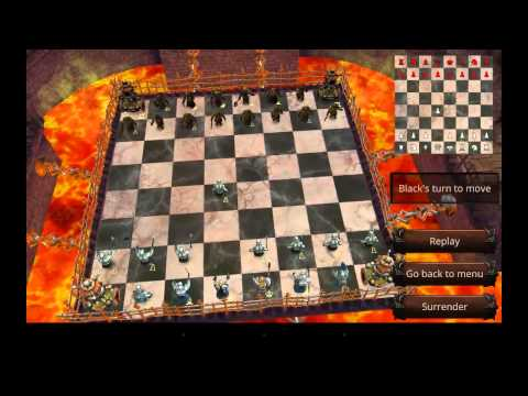 War of Chess - шахматная война на Android (обзор / review)