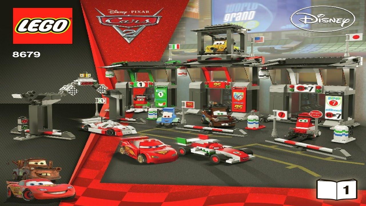 8679 LEGO Tokyo International Circuit (Instruction booklet)