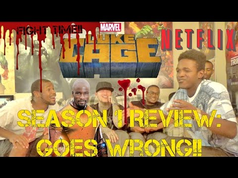 LUKE CAGE SEASON 1 REVIEW TURNS INTO FIST FIGHT!!!