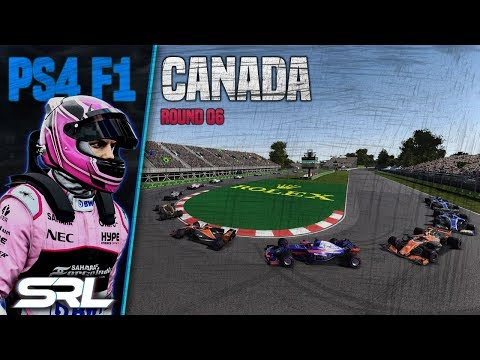 F1 2017 | SRL Season 6 | PS4 F1 Round 6: Canadian Grand Prix (Official Coverage)
