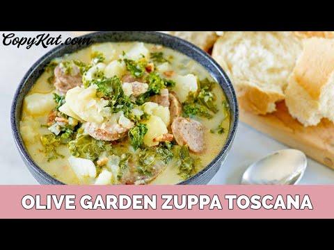 Olive Garden Zuppa Toscana Youtube