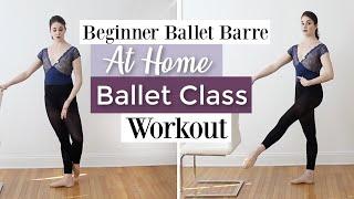 Beginner Ballet Barre   At Home Ballet Class Workout   Kathryn Morgan