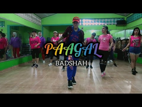 PAAGAL - BADSHAH  ZUMBA  FITNESS  DANCE  BOLLYWOOD  INDIAN  AT PENAJAM PPU