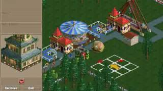 Roller Coaster Tycoon: Loopy Landscapes Gameplay
