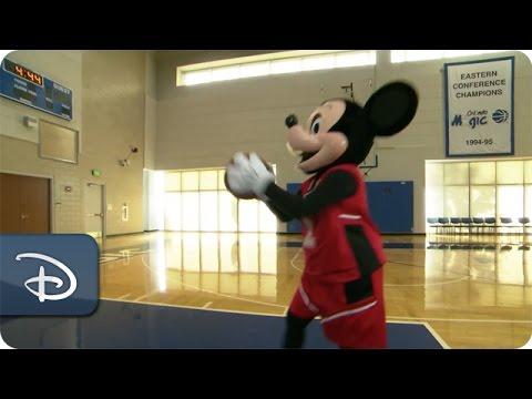 Mickey Mouse & Orlando Magic   Walt Disney World