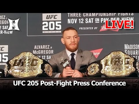 UFC 205: Post Fight Press Conference (LIVE!)