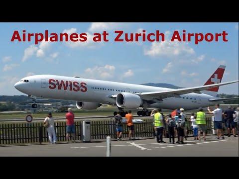 Bus Tour Zurich Airport, Switzerland.