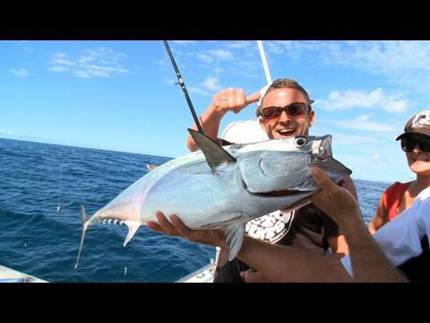 Deep Sea Fishing On The Gold Coast