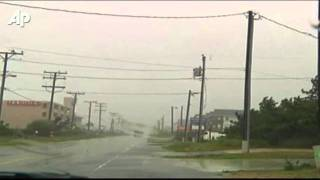 Hurricane Irene Slams Into North Carolina Coast