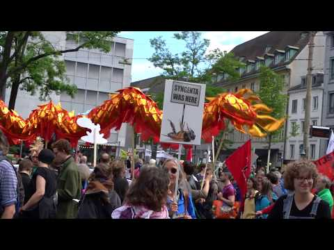 March against Monsanto and Syngenta 2017 Basel