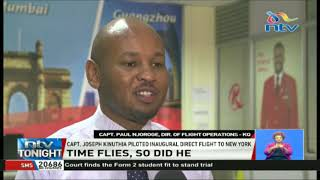 Kenya Airways' most senior pilot retires after 42 years of service