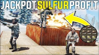 We RAIDED A RICH Clan's ARMOURED BUNKER Base That Gave Us JACKPOT SULFUR PROFIT - Rust Gameplay