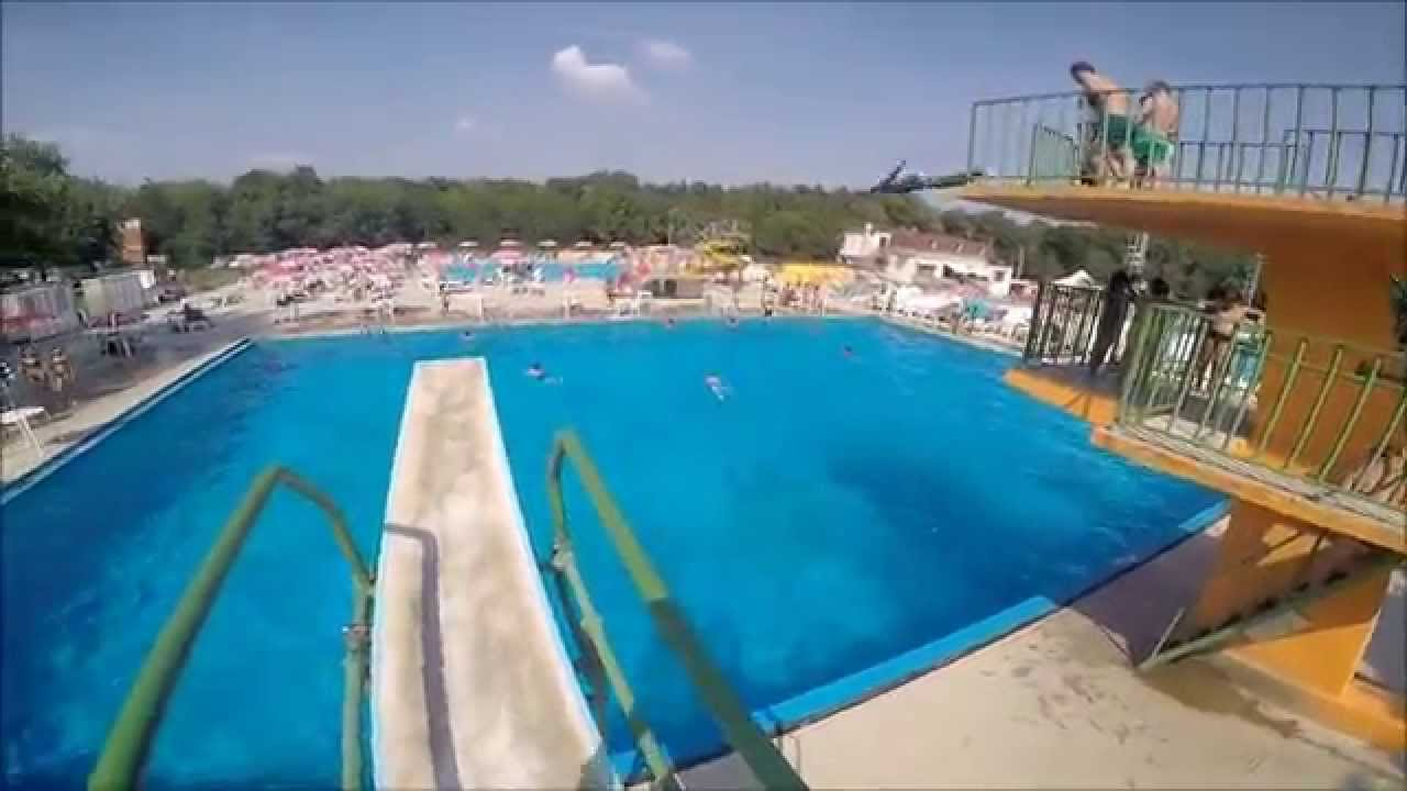 Piscine Al Gabbiano by Gopro HERO 4  YouTube