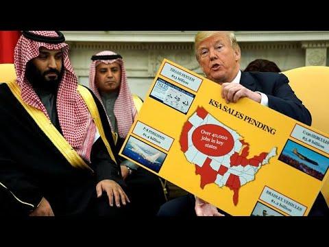 Trump et le prince héritier saoudien affiche leur amitié