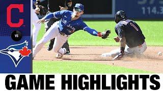 Indians vs. Blue Jays Game Highlights (8/2/21) | MLB Highlights