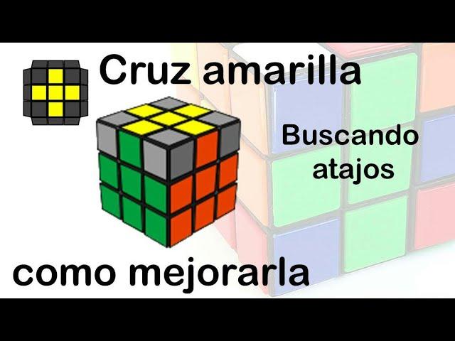 Cruz Amarilla Atajos Para Armarla Mas Fácil Y Bajar Tiempos Rubik 3x3 Youtube