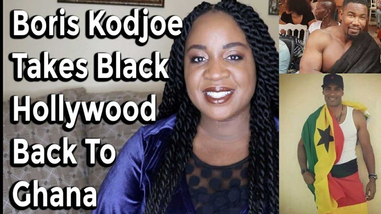 Boris Kodjoe & Black Hollywood Celebs Head Back To Ghana - Year of Return 2019 | It's Iveom