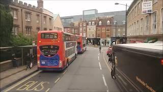 A bus trip into Cambridge City 17/10/17