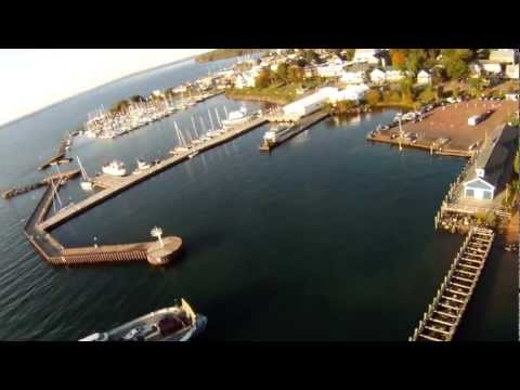 Above Bayfield & the Apostle Islands