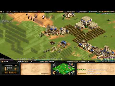 Age of empires II - Expert Players - MbL + Lierrey VS TheMax + Villese - ARABIA