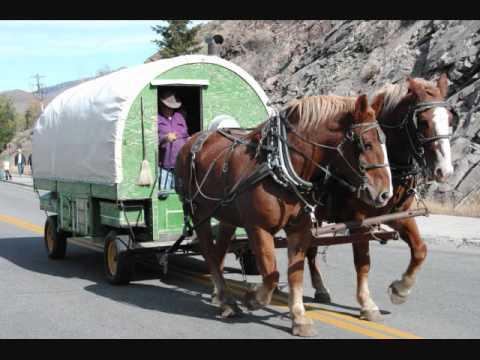 sheep wagon all horse drawn sheep wagonswmv youtube - Sheep Wagon 2