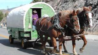 Sheep Wagon  (all Horse Drawn Sheep Wagons).wmv