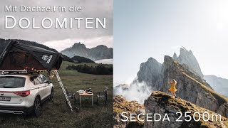 🛣🏞 Von der SILVRETTA Hochalpenstraße zur SECEDA in den DOLOMITEN // Dachzelt Alpentrip VLOG 02🚗🏕