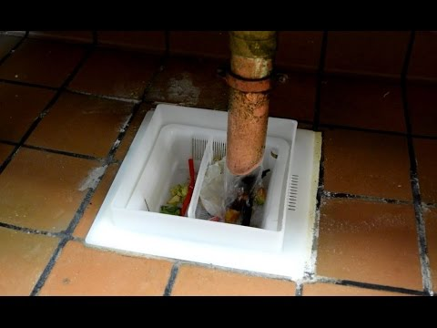 floor sink basket with flange assembly by drain net