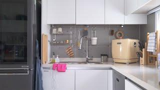 주방에서 예쁜 살림, 실용적인 음식물 처리기 한달 사용…