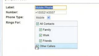 Google Voice - Phone routing