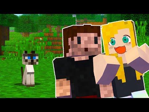 TEN KOCIAK POTRZEBUJE DOMU! - Minecraft Survi 1.13 | AGU i ZIO
