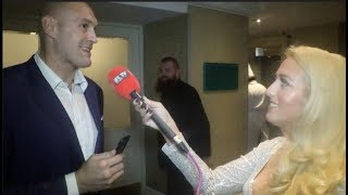 'SOMETIMES I HAVE TO GIVE TYSON A LITTLE SLAP & THEN HE BEHAVES' - PARIS FURY & TYSON FURY