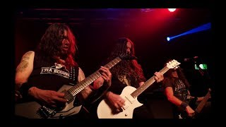 """Death Angel with Andreas Kisser - """"Hatred United/United Hate"""" live in Perth 20/5/2018 (60fps)"""
