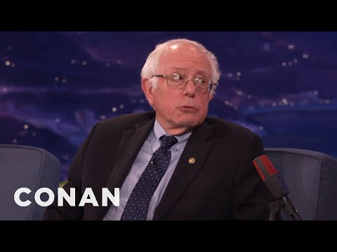 "Senator Bernie Sanders: Donald Trump's Tweets Are ""Delusional & Insane""  - CONAN on TBS"