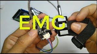 sensor EMG OYMotion para lectura de señales musculares y control robótico | editronikx