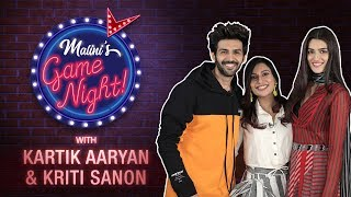 Malini's Game Night Episode 2 | Kartik Aaryan & Kriti Sanon | MissMalini