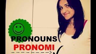 Learn Italian: Personal Pronouns (Pronomi Personali) Beginner's level