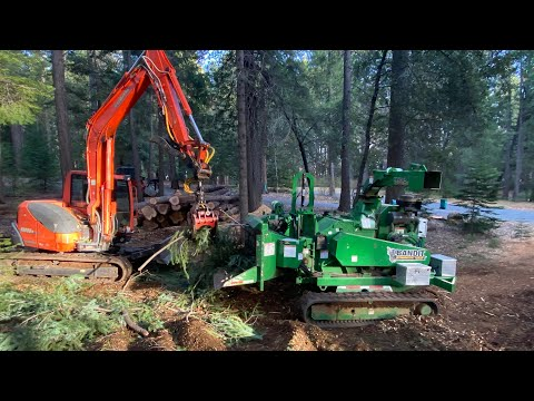 ULTIMATE LAND CLEARING SET UP  that doesnt need a SEMI