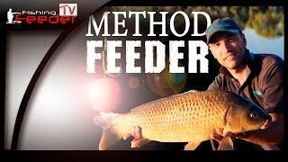 Flat Method Feeder на коммерческом водоеме (www.Feederfishing.tv)