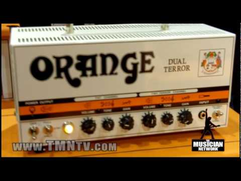 WINTER NAMM 2010 - ORANGE AMPLIFIERS - Booth Walk-Through