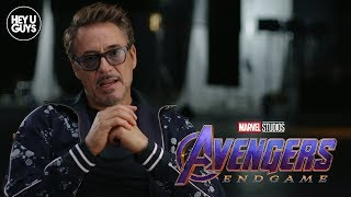 Robert Downey Jr on what to Expect from Avengers Endgame